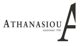 ATHANASIOU ESTABLISHED 1938 A