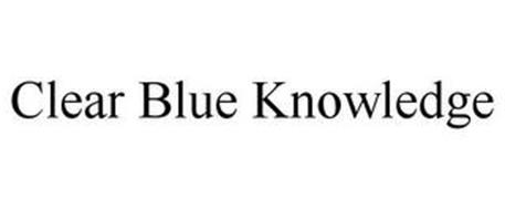 CLEAR BLUE KNOWLEDGE
