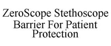 ZEROSCOPE STETHOSCOPE BARRIER FOR PATIENT PROTECTION