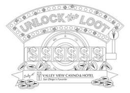 UNLOCK THE LOOT ONLY AT VALLEY VIEW CASINO & HOTEL SAN DIEGO'S FAVORITE