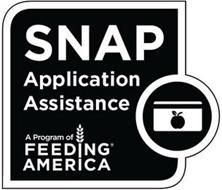 SNAP APPLICATION ASSISTANCE A PROGRAM OF FEEDING AMERICA