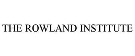THE ROWLAND INSTITUTE