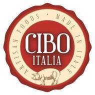 CIBO ITALIA ARTISAN FOODS · MADE IN ITALY