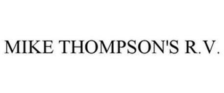 MIKE THOMPSON'S R.V.