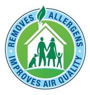 REMOVES ALLERGENS IMPROVES AIR QUALITY