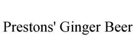 PRESTONS' GINGER BEER