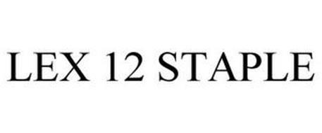 LEX 12 STAPLE