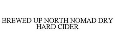 BREWED UP NORTH NOMAD DRY HARD CIDER