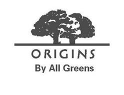 ORIGINS BY ALL GREENS