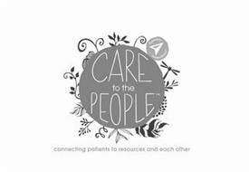 CARE TO THE PEOPLE CONNECTING PATIENTS TO RESOURCES AND EACH OTHER POWERED BY CONSUMER MEDICAL
