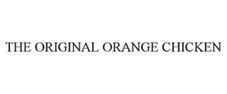 THE ORIGINAL ORANGE CHICKEN