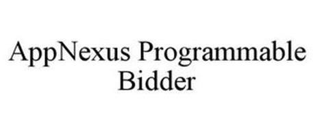 APPNEXUS PROGRAMMABLE BIDDER