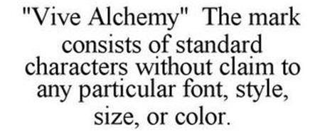 VIVE ALCHEMY