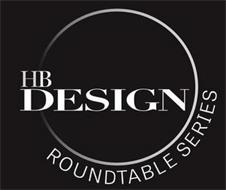 HB DESIGN ROUNDTABLE SERIES