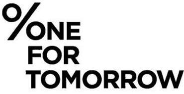 %NE FOR TOMORROW