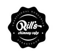 RILL'S CHIMNEY CAKE TRADITIONAL HUNGARIAN STREETFOOD