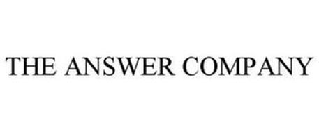 THE ANSWER COMPANY