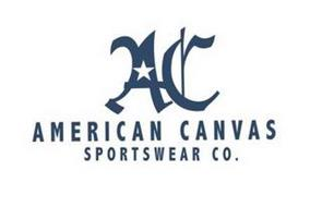 AC AMERICAN CANVAS SPORTSWEAR CO.