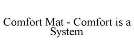 COMFORT MAT - COMFORT IS A SYSTEM