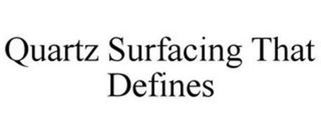 QUARTZ SURFACING THAT DEFINES