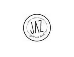 JAZ SIMPLE · SWEET · SAVOURY GOURMET FOOD CO