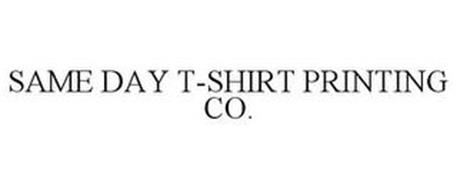 SAME DAY T-SHIRT PRINTING CO.