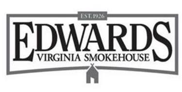EDWARDS VIRGINIA SMOKEHOUSE SINCE 1926 SURRY COUNTY CURED MEATS