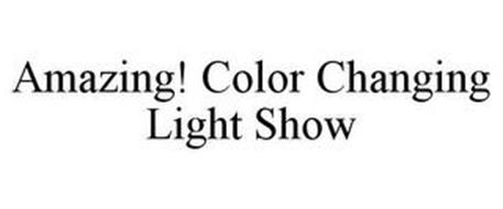AMAZING! COLOR CHANGING LIGHT SHOW