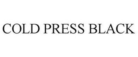 COLD PRESS BLACK