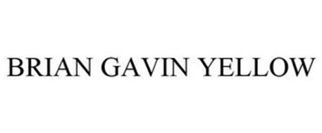 BRIAN GAVIN YELLOW