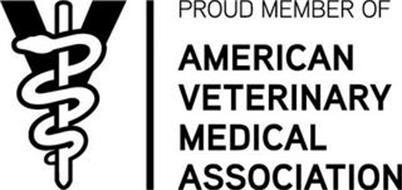 V PROUD MEMBER OF AMERICAN VETERINARY MEDICAL ASSOCIATION