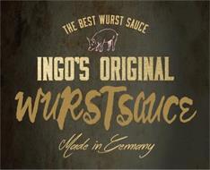 THE BEST WURST SAUCE INGO'S ORIGINAL WURSTSAUCE MADE IN GERMANY