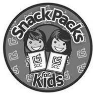 SNACKPACKS FOR KIDS SCC
