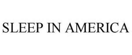 SLEEP IN AMERICA
