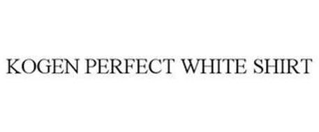 KOGEN PERFECT WHITE SHIRT