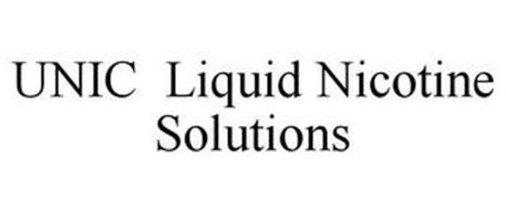 UNIC LIQUID NICOTINE SOLUTIONS