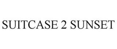 SUITCASE 2 SUNSET