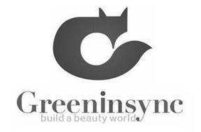 G GREENINSYNC BUILD A BEAUTY WORLD