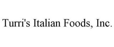 TURRI'S ITALIAN FOODS, INC.