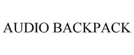 AUDIO BACKPACK