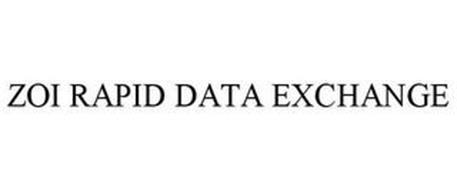 ZOI RAPID DATA EXCHANGE