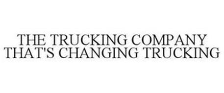 THE TRUCKING COMPANY THAT'S CHANGING TRUCKING