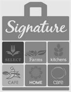 SIGNATURE SELECT FARMS KITCHENS CAFE HOME CARE
