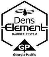DENS ELEMENT BARRIER SYSTEM GP GEORGIA-PACIFIC