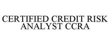 CERTIFIED CREDIT RISK ANALYST CCRA