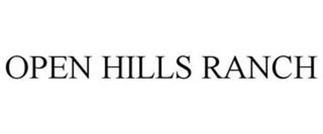 OPEN HILLS RANCH