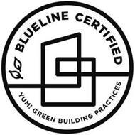 BLUELINE CERTIFIED YUM! GREEN BUILDING PRACTICES