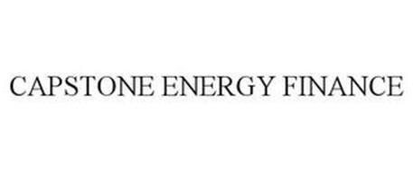CAPSTONE ENERGY FINANCE
