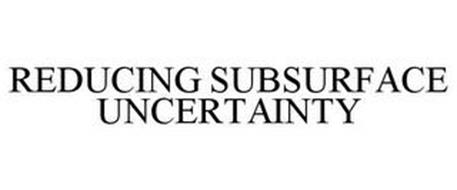 REDUCING SUBSURFACE UNCERTAINTY