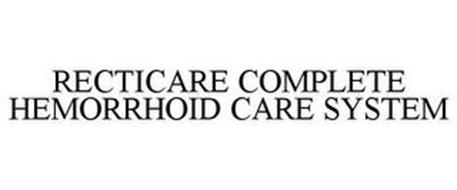 RECTICARE COMPLETE HEMORRHOID CARE SYSTEM